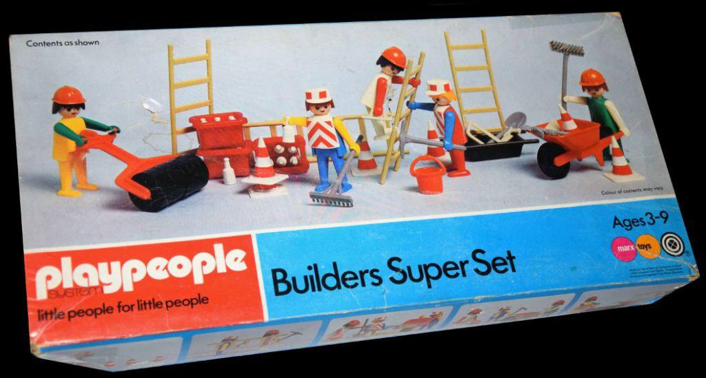 Playmobil 1720v2-pla - Builders Super Set - Box