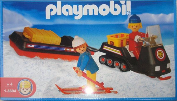 Playmobil 1-3694-ant - snowmobile - Box