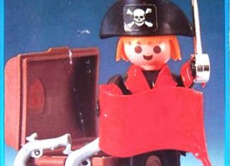 Playmobil - 23.38.5v2-trol - Pirat mit Schatztruhe