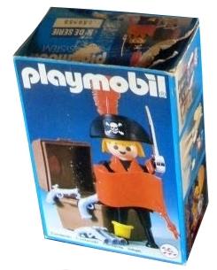 Playmobil 23.38.5v2-trol - Pirat mit Schatztruhe - Box