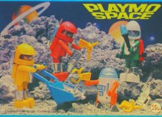 Playmobil - 23.80.1-trol - 4 space figures