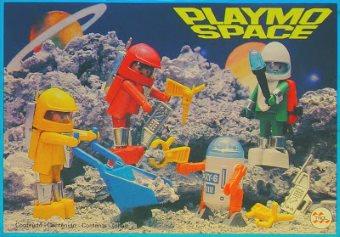 Playmobil 23.80.1-trol - 4 space figures - Box