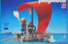 Playmobil - 30.10.25-est - pirate raft with shark (red sail)