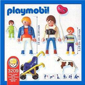Playmobil 3209s2 - Family Walk - Box