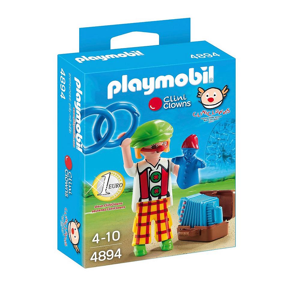Playmobil 4894-net - Clini Clown - Box