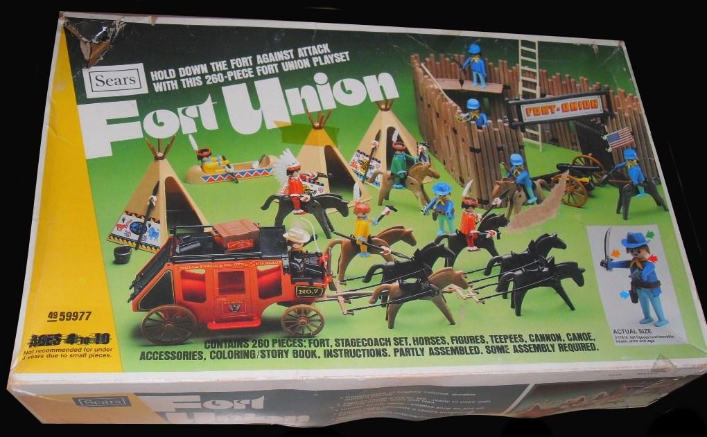 Playmobil 49-59977v2-sch - Fort Union - Box