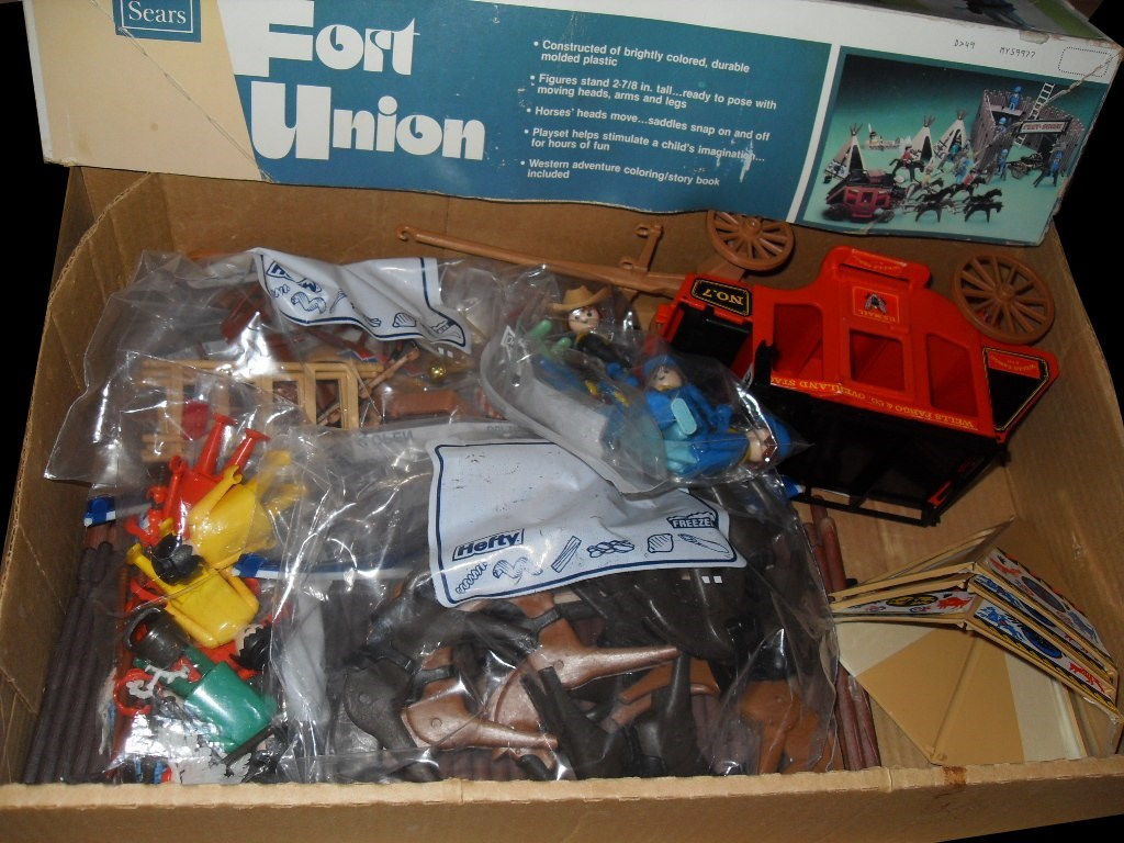 Playmobil 49-59977v2-sch - Fort Union - Back