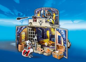 Playmobil - 6156 - My Secret Knights' Treasure Room Play Box