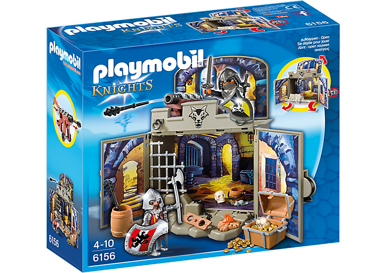 Playmobil 6156 - My Secret Knights' Treasure Room Play Box - Box