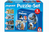 Playmobil - 80355 - Puzzle with 4 themes