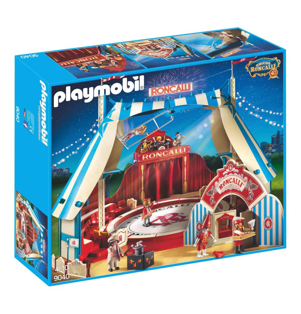 Playmobil set 9040 roncalli circus arena klickypedia - Cirque playmobil ...