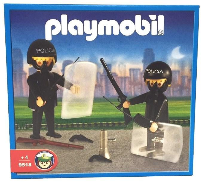 Playmobil 9581-ant - 2 policemen - Box
