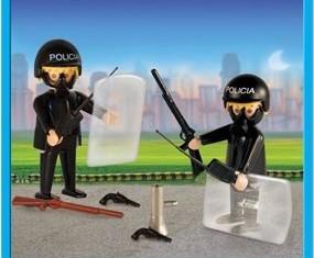Playmobil - 9581-ant - 2 policemen
