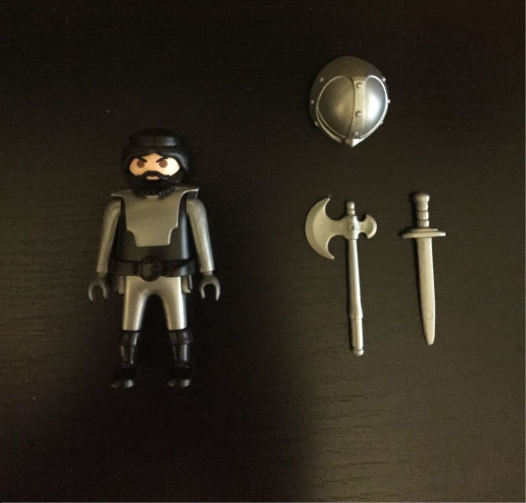 Playmobil 0000 - Barbarian - free promotional - Back