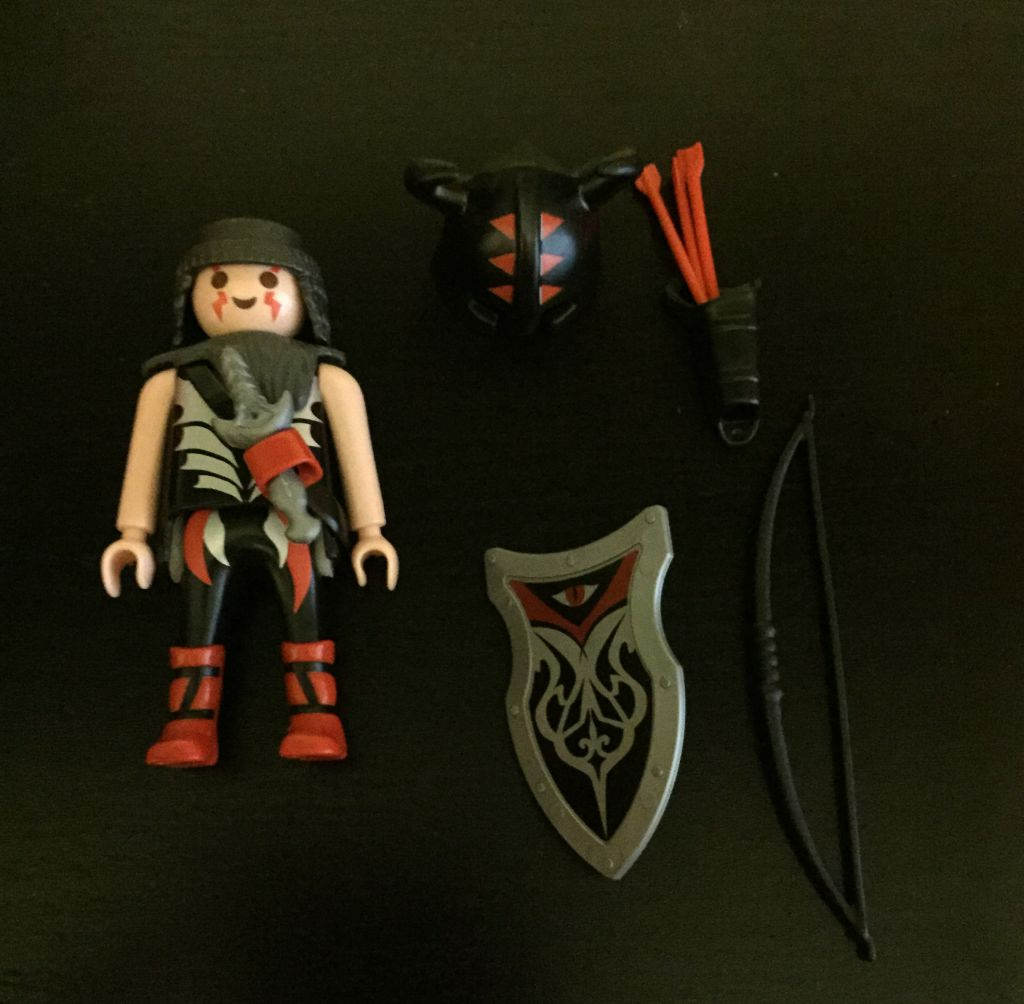 Playmobil 0000 - Red Knight - free promotional - Back