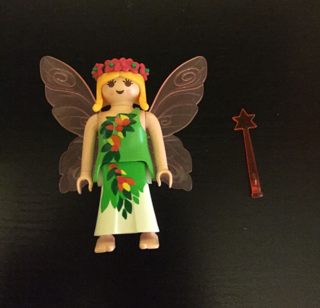 Playmobil 0000 - Flower fairy - free promotional - Back
