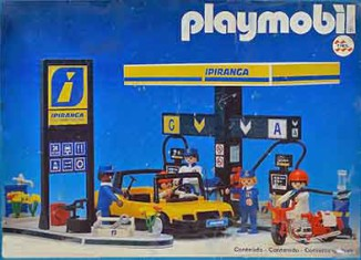 "Playmobil - 23.88.6-trol - Tankstelle ""Ipiranga"""