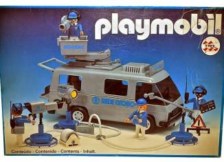 Playmobil - 23.71.2-trol - Fourgon télé Rede Globo
