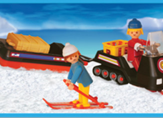 Playmobil - 1-3694-ant - snowmobile