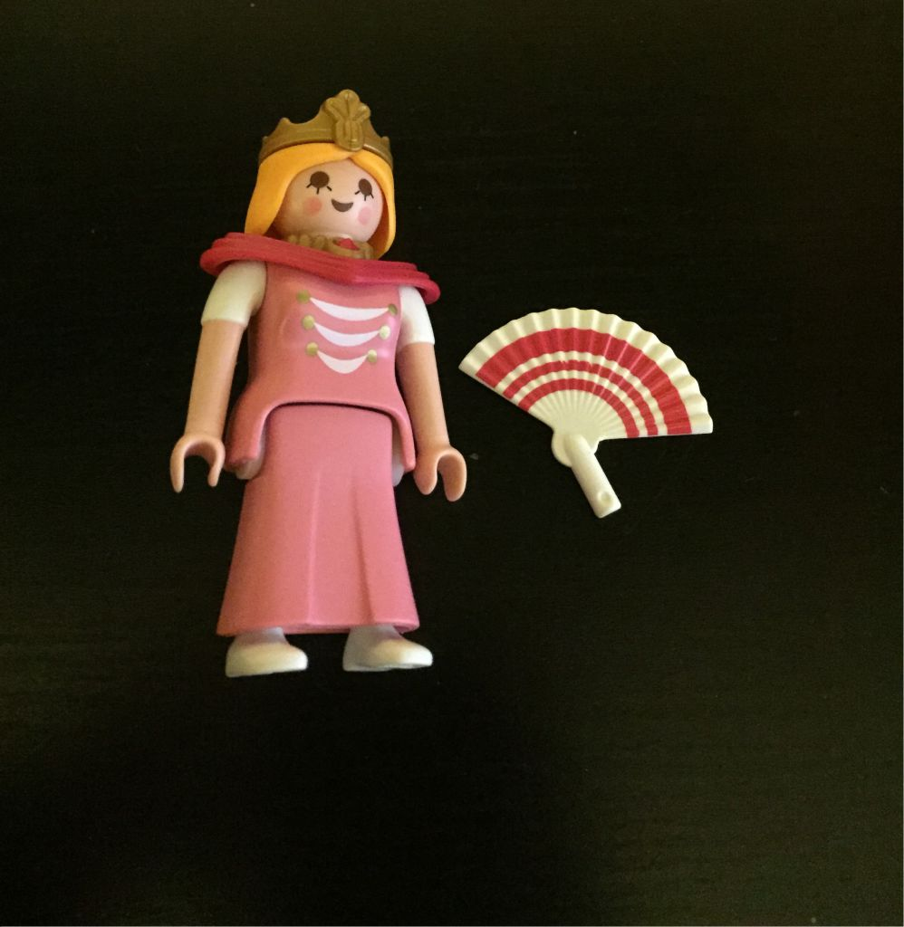 Playmobil 0000 - Fan Princess - free promotional - Back