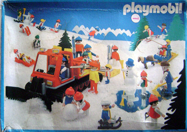 Playmobil 3467-ant - Wintersport Family - Box