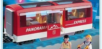 Playmobil - 4124 - Panorama Express Rail Car