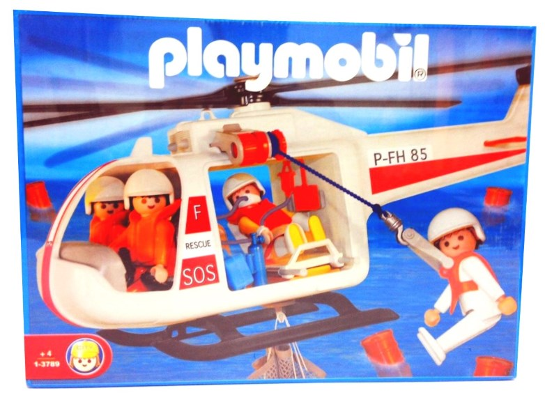 Playmobil 1-3789-ant - Rescue helicopter - Box