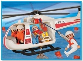 Playmobil - 1-3789-ant - Rescue helicopter
