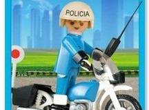 Playmobil - 1-3564v2-ant - Police bike