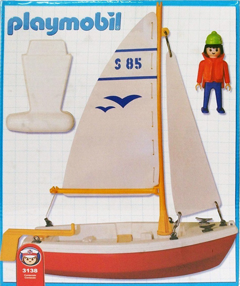 Playmobil 3138-ant - sailboat - Back