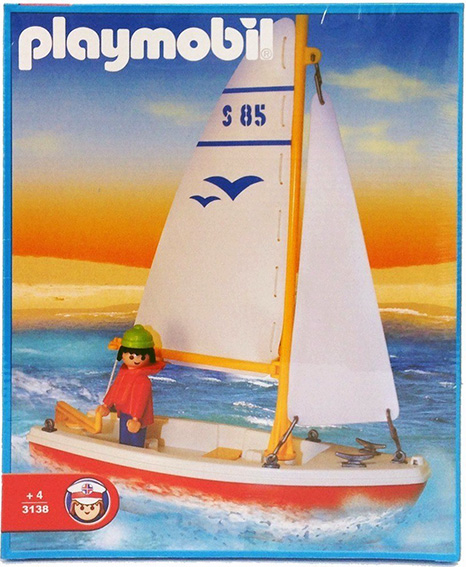 Playmobil 3138-ant - sailboat - Box