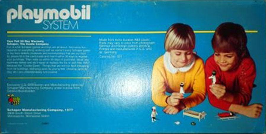 Playmobil 051-sch - doctor & nurse starter set - Box