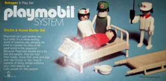Playmobil - 051-sch - doctor & nurse starter set