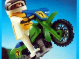Playmobil - 13301-aur - off-road motorcycle