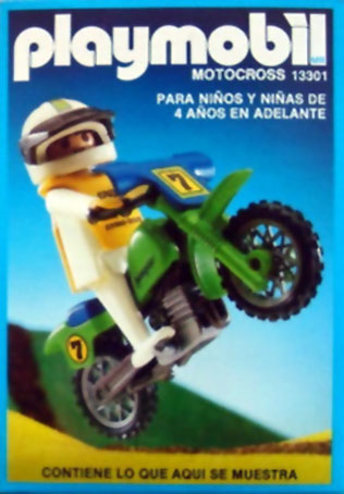 Playmobil 13301-aur - off-road motorcycle - Box