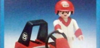 Playmobil - 13575-aur - child with car