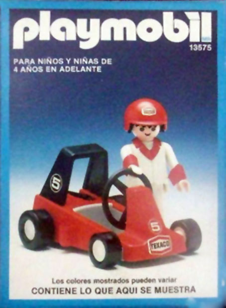 Playmobil 13575-aur - child with car - Box