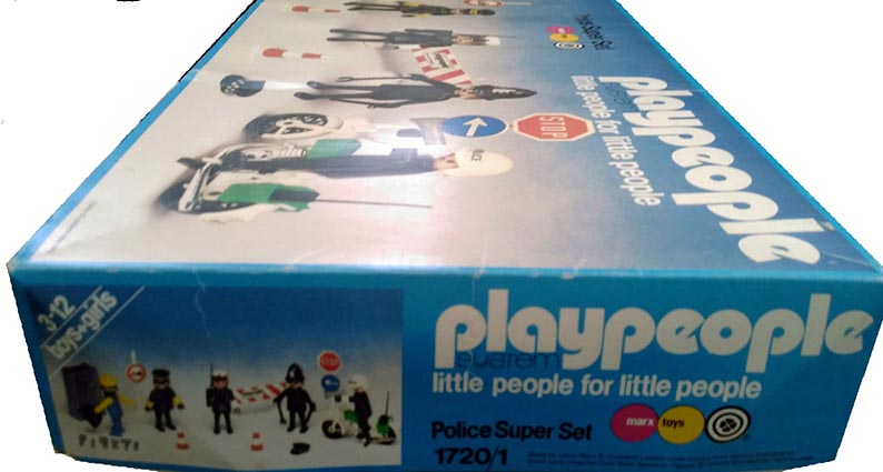 Playmobil 1720/1-pla - Police Super Set - Box