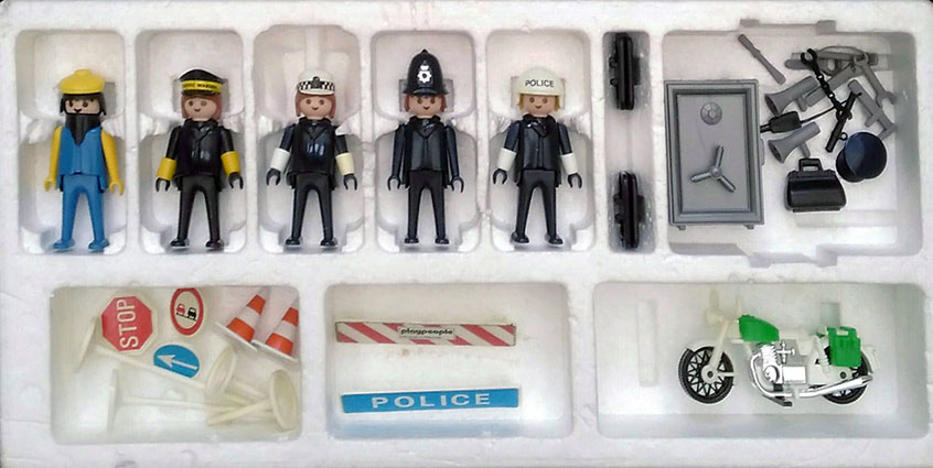 Playmobil 1720/1-pla - Police Super Set - Back