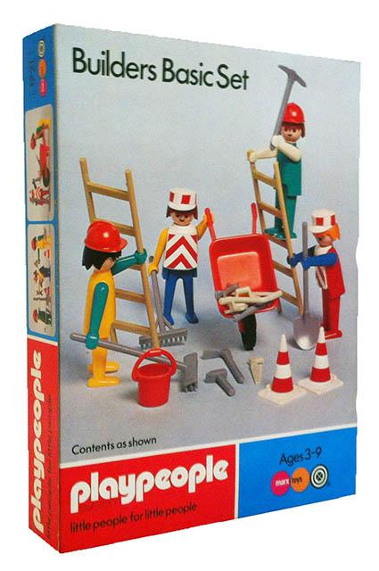 Playmobil 1721-pla - Builders BasicSet - Box