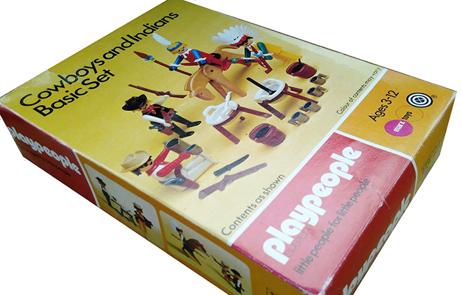 Playmobil 1731v1-pla - Cowboys and Indians Basic Set - Box