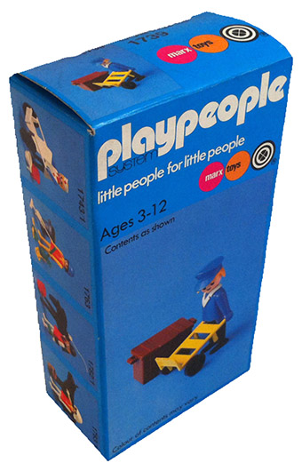 Playmobil 1739-pla - Railway porter - Box