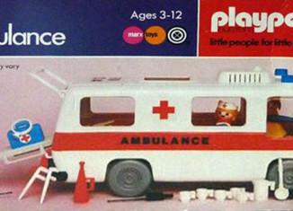 Playmobil - 1748v1-pla - Krankenwagen