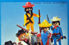 Playmobil - 23.24.1 -TROL-trol - 5 cowboys