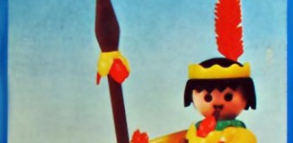 Playmobil - 23.35.2 - V1-trol - indian with canoe