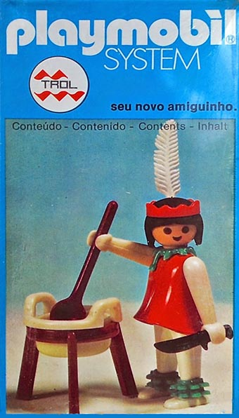 Playmobil 23.35.5-trol - indian cooking - Box