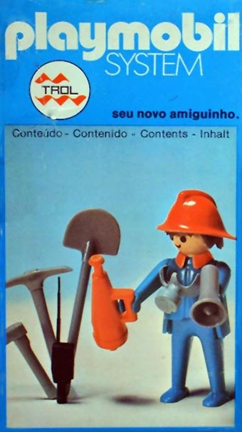 Playmobil 23.36.6-trol - fireman - Caja
