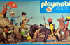 Playmobil - 23.40.7 - V1-trol - cowboys fight