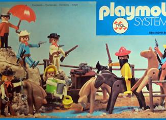 Playmobil - 23.40.7 - V1-trol - cowboys fight