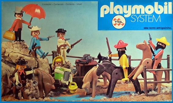 Playmobil 23.40.7 - V1-trol - cowboys fight - Box